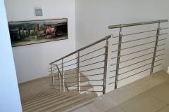 Balaustra in acciaio modello Yuma Faraone - Bologna