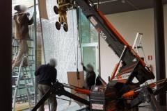 Montaggio con ventosa vetrata isolante  - Parma