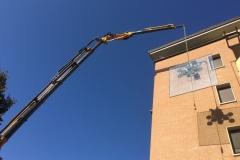 Montaggio con ventosa vetrata isolante  - Casalecchio di Reno