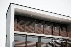 Balaustre alluminio Olimpia - Lame orizzontali
