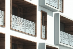 Balaustre alluminio Olimpia - Lamiera microforata