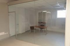 Vetrata spazio uffici Sesta Rete - Bologna