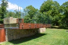Parapetti solarium piscina privata - Camugnano